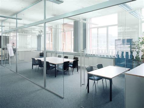 cloison de bureau en verre cloison amovible de bureau coulissante en verre h130 by k 246 nig neurath