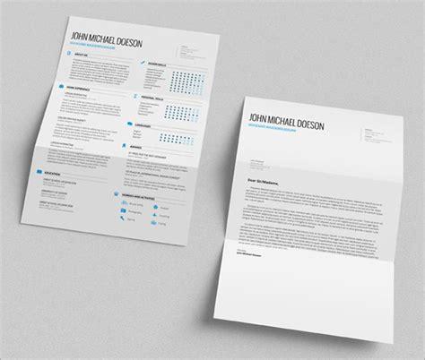 resume cv templates  ai indesign psd