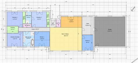 maison 4 chambres plain pied plan dune maison plain pied 4 chambres maison moderne
