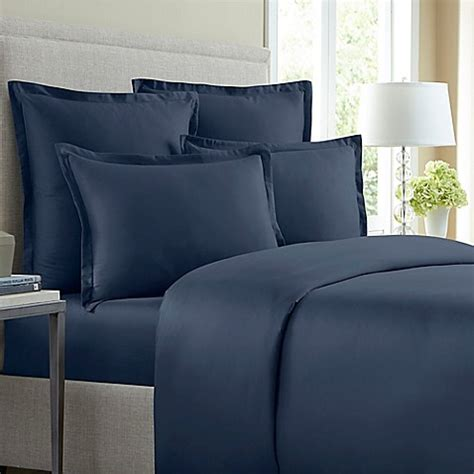 solid duvet covers wamsutta 174 620 thread count solid duvet cover bed bath