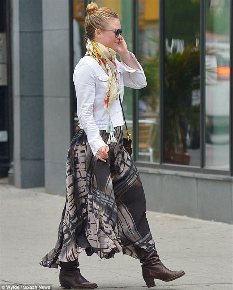 Julia Stiles Dons Unflattering Ensemble As She Steps Out