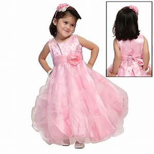 Pearl Gown Round Neck (Baby Pink) Gown SG184RD-BP