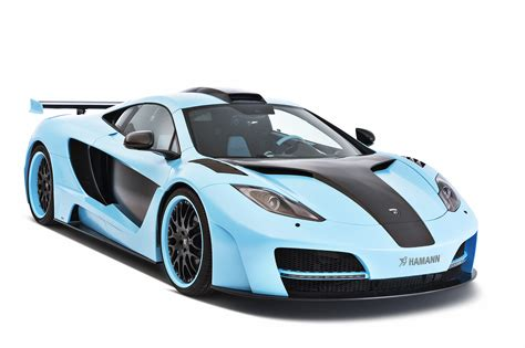Light Blue Sports Cars by Image Hamann Mclaren 2013 Memor Blue Mp4 12c Luxury Light