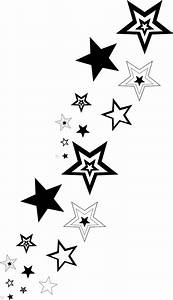 Stars clipart little black - Pencil and in color stars ...