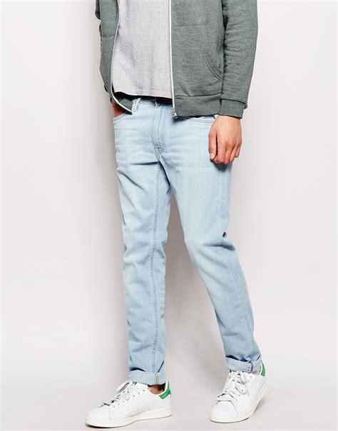 light wash skinny jeans mens lyst lee jeans jeans luke skinny fit summer wind light
