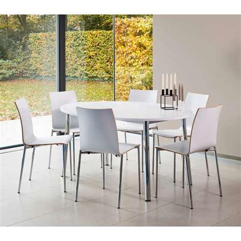 table ovale cuisine table de cuisine ovale en stratifié elli 4 pieds