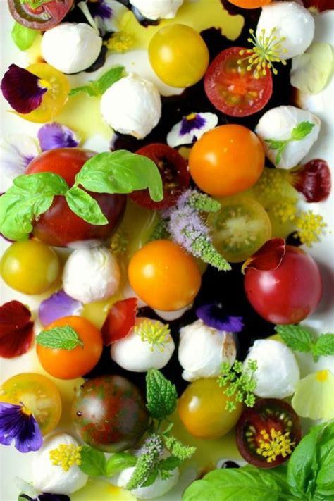 les fleurs comestibles en cuisine les 25 meilleures idées concernant fleurs comestibles sur