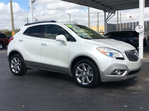 Preowned Buick by Pre Owned 2014 Buick Encore Premium Sport Utility In Ta