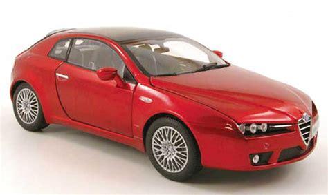 Alfa Romeo Brera Red 2006 Norev Diecast Model Car 1/18