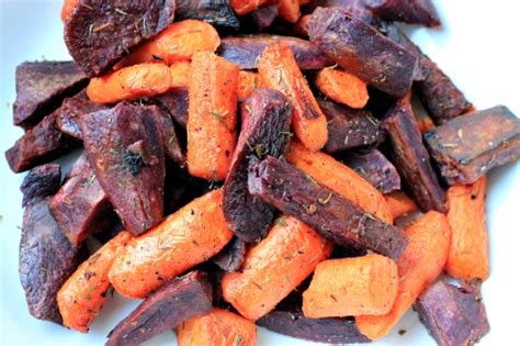 roasted purple sweet potato wedges  rosemary  thyme