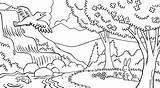 Pemandangan Freecoloringpages Lds sketch template