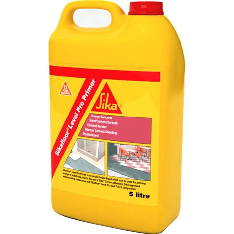 Liquid Floor Leveler by Sika 5l Sikafloor Level Pro Liquid Primer I N 0960345