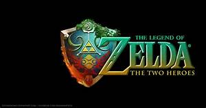 The Legend Of Zelda The Two Heroes Logo By SoyUnGnomo On