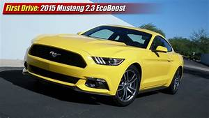 First Drive: 2015 Mustang 2.3 EcoBoost - TestDriven.TV