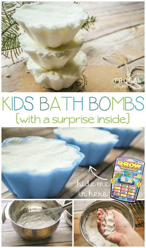 homemade kids bath bombs  choose  scent