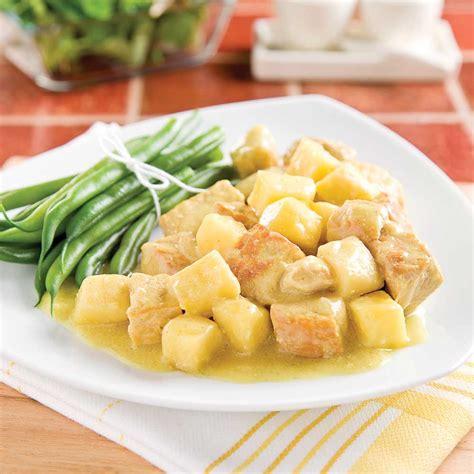 cuisine à la mijoteuse cari de porc épicé aux pommes à la mijoteuse recettes
