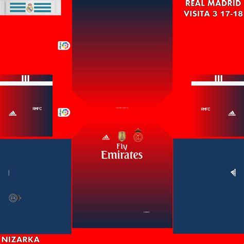 Pro evolution pes 2018 barcelona vs real madrid kits. Camisetas ficticias para Pes 2018 (con imágenes) | Real madrid