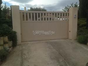 Installer Un Portail : nos r alisations var pose alu installation d 39 un portail ~ Premium-room.com Idées de Décoration