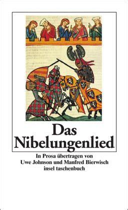 das nibelungenlied als taschenbuch portofrei bei buecherde