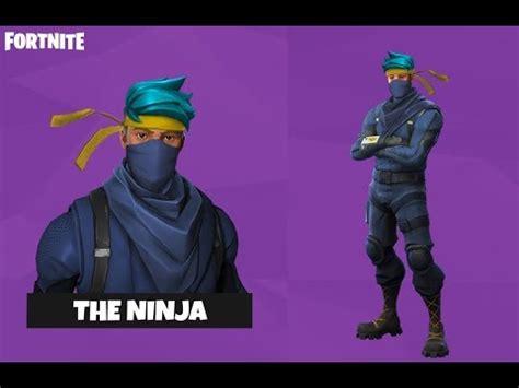 ninja fortnite skin coming  fortnite battle