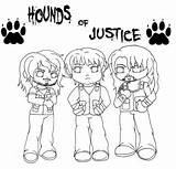 Wwe Shield Coloring Pages Hounds Justice Line Chibi Seth Rollins Raw Tapla Fangirls Deviantart Template Wm29 sketch template
