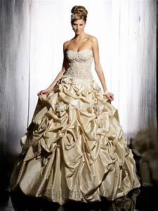 top 10 2013 wedding dress style gold wedding With golden dresses for a wedding