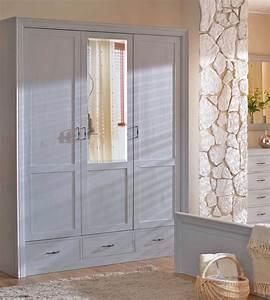 Kleiderschrank Mit Schubladen : kleiderschrank 3 t rig mit spiegel schubladen optional massiv aus holz ~ Sanjose-hotels-ca.com Haus und Dekorationen