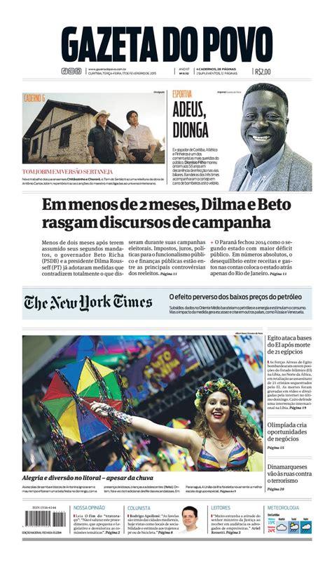 Jornal Gazeta do Povo nº 31.132 by Portal Academia do ...