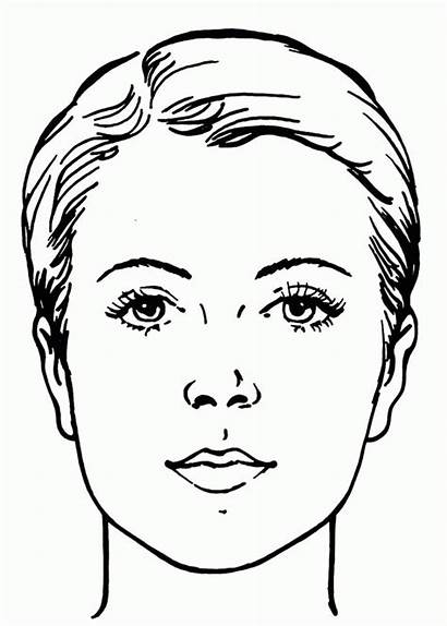 Coloring Pages Face Sad Adult Printable Sheets
