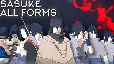 sasuke moveset   formscomboawakening showcase