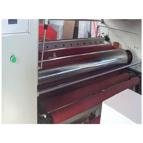 pur hotmelt glue laminating  machine qingdao haozhonghao woodworking machinery