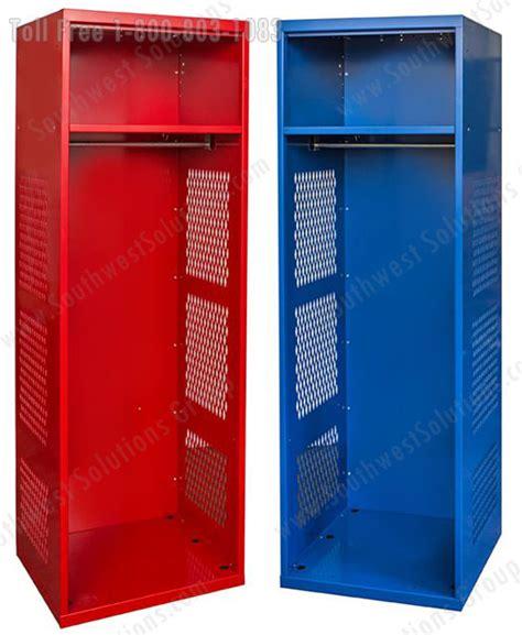 wood metal smart day sport lockers rfid outside glass door