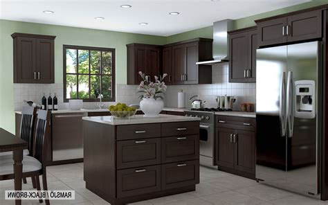 kitchen with brown cabinets kitchen cabinets for beautifying kitchen design 8745