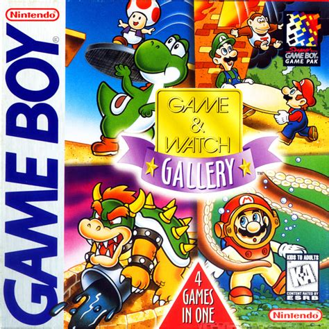 Game Boy Watch Us Play Games