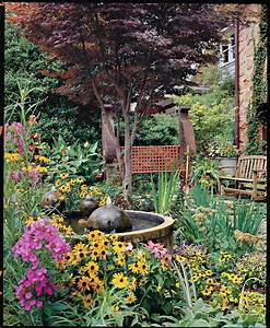 Colorful, Cottage, Courtyard