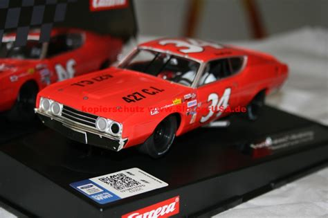 carrera evolution  ford torino talladega wendell