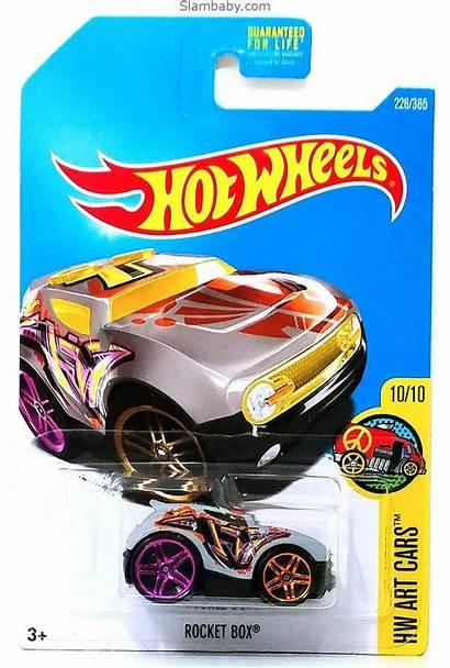 Box Rocket Wheels Cars Hw Grey Hotwheels