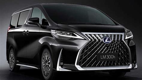 lexus lm officially revealed  luxury minivan