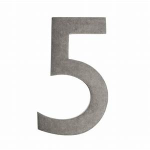 Architectural mailboxes 4 in black floating house number for Floating house letters