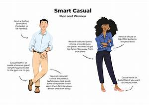 Examples Of Smart Casual Interview Attire For Men  U0026 Women