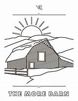 Coloring Steamboat Pages Resort Rich Text Barn Mountain sketch template
