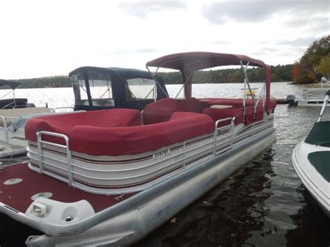 Used Pontoon Boats Maine by Used Pontoon Boats For Sale In Maine United States Boats