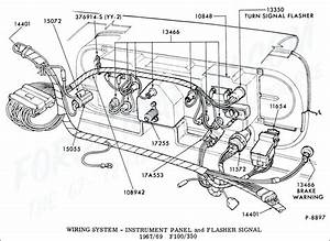 1965 F100 Wiring Diagram Ford Truck Technical Drawings And Schematics Section I Electrical And