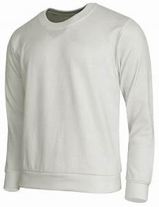 Fleece Crew Neck Basic Long Sleeve T