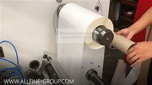 Rotary Die Cutting And Slitting Machine Auto Paper Roll