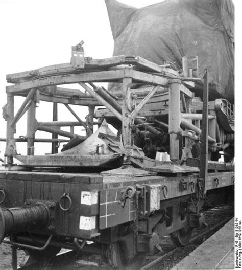 [Photo] Rail-mounted V-2 rocket, Peenemünde, Germany ...