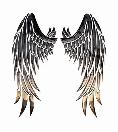 Wings Angel Silhouette Clip Clipart Transparent Wing