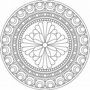 Don't Eat the Paste: Architectural Inspired Mandala to Color