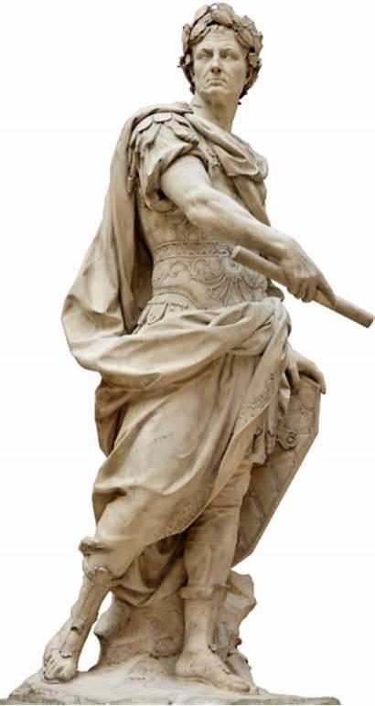 Caesar Julius Louvre Roman Senate Statue Rome