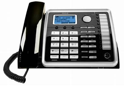 Line Rca Landline Telephone Corded Phone Desk